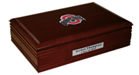 The Ohio State University Desk Box - Athletic O Spirit Medallion Desk Box