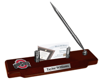 The Ohio State University Desk Pen Set - Athletic O Spirit Medallion Desk Pen Set