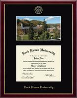 Lock Haven University Diploma Frame - Campus Scene Diploma Frame in Galleria