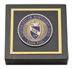 University of Northern Iowa Paperweight - Masterpiece Medallion Paperweight
