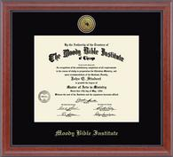 Moody Bible Institute Diploma Frames