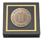 Middlebury College Paperweight - Brass Masterpiece Medallion Paperweight