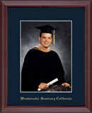 Westminster Seminary California Photo Frame - Embossed Photo Frame in Camby
