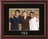 Tau Kappa Epsilon Photo Frame - Embossed Greek Letters Photo Frame in Galleria