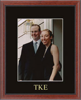 Tau Kappa Epsilon Photo Frame - Embossed Photo Frame in Signet
