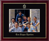 Tau Kappa Epsilon Photo Frame - 8' x 10' - Wall Hanging Embossed Photo Frame in Galleria