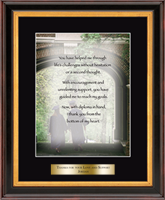 University of Massachusetts Lowell Graditude Frame - 'Grad'itude Frame - Graduate in Verona