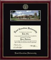 East Carolina University Diploma Frame - Library Campus Scene Diploma Frame in Galleria