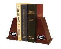 The University of Georgia Bookends - Spirit Medallion Bookends