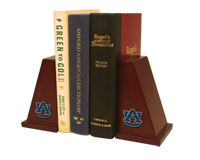 Auburn University Bookends - Spirit Medallion Bookends