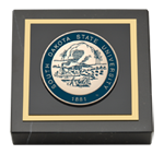 South Dakota State University Paperweight - Masterpiece Medallion Paperweight