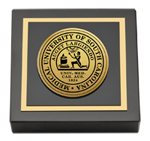 Medical University of South Carolina Paperweight - Gold Engraved Medallion Paperweight