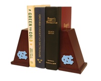 University of North Carolina Chapel Hill Bookends - Spirit Medallion Bookends