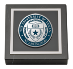 The University of Texas Arlington (UTA) Paperweight - Masterpiece Medallion Paperweight