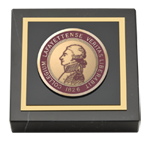 Lafayette College Paperweight - Masterpiece Medallion Paperweight