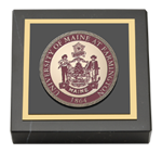 University of Maine Farmington Paperweight - Masterpiece Medallion Paperweight