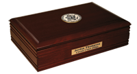 Supreme Court of the United States Desk Box - Black Enameled Masterpiece Medallion Desk Box