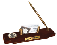 Supreme Court of the United States Desk Pen Set - Black Enameled Masterpiece Medallion Desk Pen Set