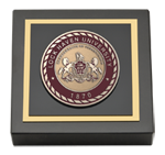 Lock Haven University Paperweight - Masterpiece Medallion Paperweight