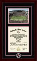 University of South Carolina Diploma Frame - Spirit Medallion Stadium Scene Diploma Frame in Cordova