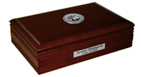 University of Mary Washington Desk Box - Silver Engraved Medallion Desk Box