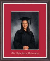The Ohio State University Photo Frame - Silver Embossed Photo Frame in Devon