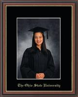 The Ohio State University Photo Frame - Gold Embossed Photo Frame in Williamsburg
