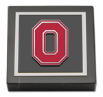 The Ohio State University Paperweight - Block O Spirit Medallion Paperweight