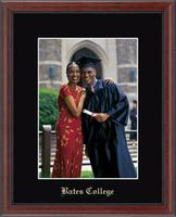 Bates College Photo Frame - Gold Embossed Photo Frame in Signet