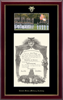 United States Military Academy Diploma Frame - Cadets in Gallery