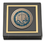 University of California Berkeley Paperweight - Masterpiece Medallion Paperweight