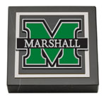 Marshall University Paperweight - Spirit Medallion Paperweight