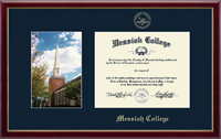 Messiah College Diploma Frame - Campus Scene Diploma Frame - Hostetter Chapel in Galleria