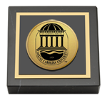 Coastal Carolina University Paperweight - Gold Engraved Medallion Paperweight