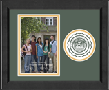 Wilberforce University Photo Frame - Lasting Memories Circle Logo Photo Frame in Arena
