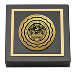 Wilberforce University Paperweight - Gold Engraved Medallion Paperweight