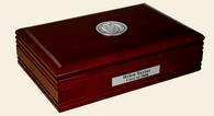 New Jersey Institute of Technology Desk Box - Silver Engraved Medallion Desk Box
