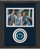Pennsylvania State University Photo Frame - Lasting Memories Circle Logo Photo Frame in Arena