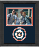 Auburn University Photo Frame - Lasting Memories Circle Logo Photo Frame in Arena