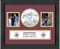 Rhode Island College Photo Frame - Lasting Memories Banner Collage Photo Frame in Arena