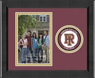 Rhode Island College Photo Frame - Lasting Memories Circle Logo Photo Frame in Arena