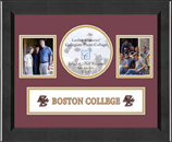 Boston College Photo Frame - Lasting Memories Banner Collage Photo Frame in Arena