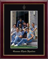 Gamma Theta Upsilon Photo Frame - Gold Embossed Photo Frame in Galleria