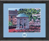 University of North Carolina Chapel Hill Diploma Frame - Lasting Memories Fanfare Campus Frame - Old Well in Arena