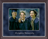 Creighton University Photo Frame - Embossed Photo Frame in Devon