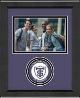 University of St. Thomas Photo Frame - Lasting Memories Circle Logo Photo Frame in Arena