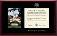 University of Evansville Diploma Frame - Campus Scene Diploma Frame in Galleria