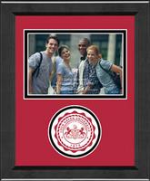 Lock Haven University Photo Frame - Lasting Memories Circle Logo Photo Frame in Arena