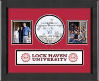 Lock Haven University Photo Frame - Lasting Memories Banner Collage Photo Frame in Arena