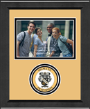 Sigma Nu Photo Frame - 4' x 6' - Lasting Memories Circle Logo Photo Frame in Arena